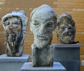 Special Group; sculpture by Simon Gaon