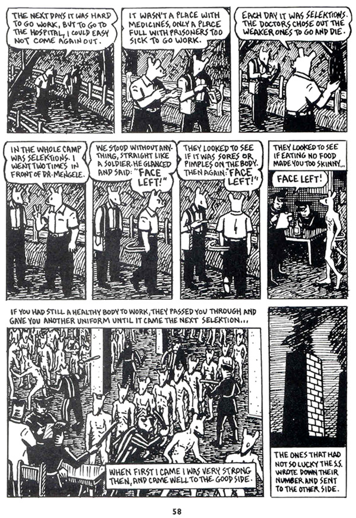 maus i ii Inhuman comedy maus ii: a survivors tale and how my troubles began by art spiegelman pantheon 136 pp $1800 whether or not art spiegel-man was.