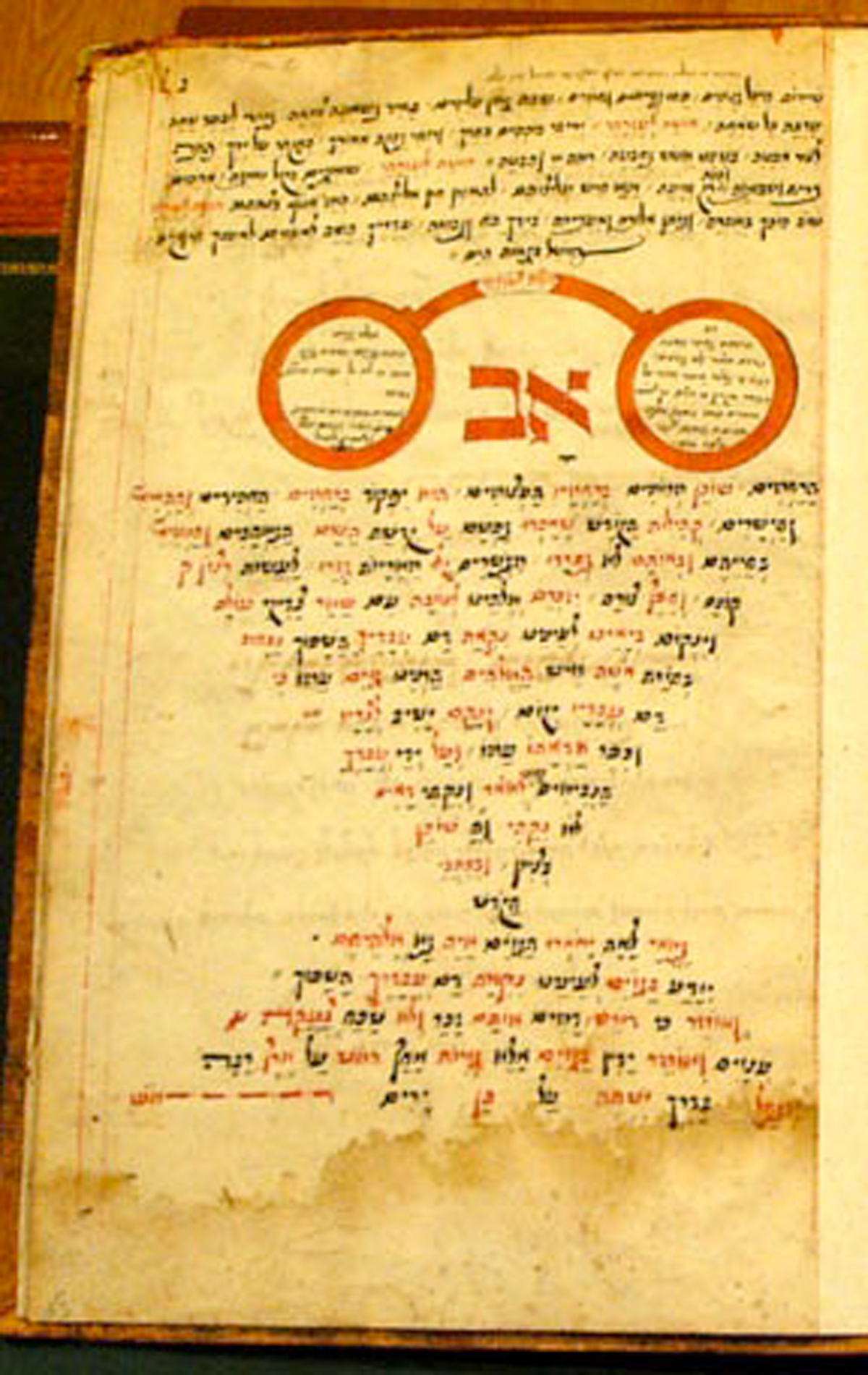 Av Harachamim, Siddur manuscript (1673) by Shimshon ben Yochanan HaLevi Courtesy Kestenbaum and Co.