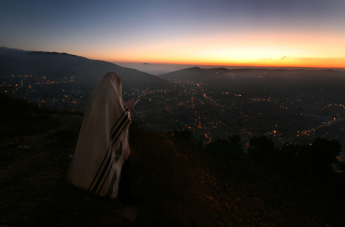 Nablus, West Bank (Mt. Gerizim), 2009; color photograph by Rina Castelnuovo Courtesy Andrea Meislin Gallery