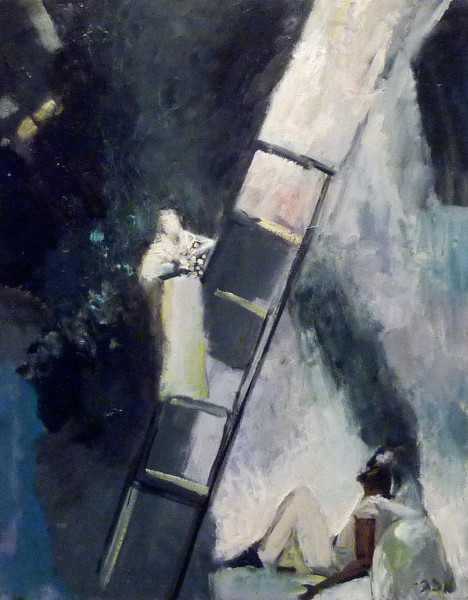 "Jacobs Ladder: The Gift 30"" x 24"""