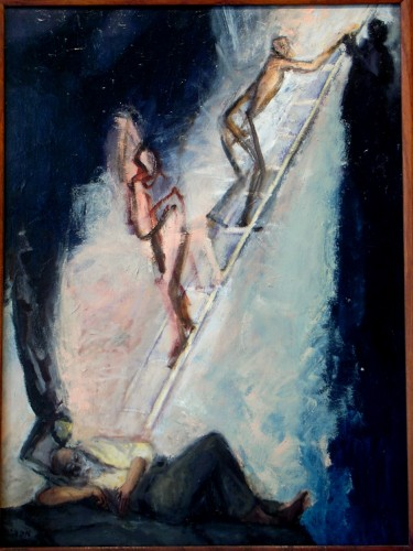 "Jacobs Ladder Dream 24"" x 18"""