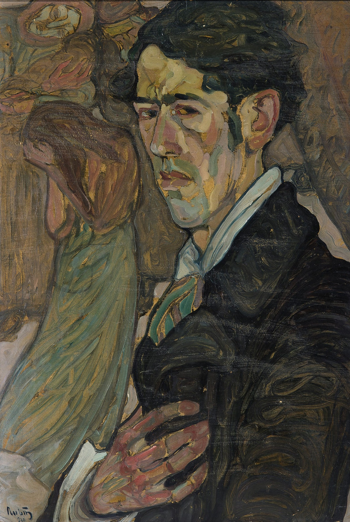Self Portrait by Reuven Rubin