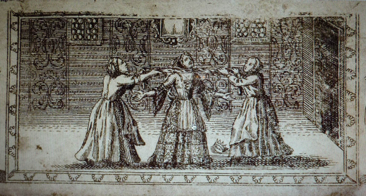 Vashti's Execution, Amsterdam 1701 Megillah Courtesy The Braginsky Collection