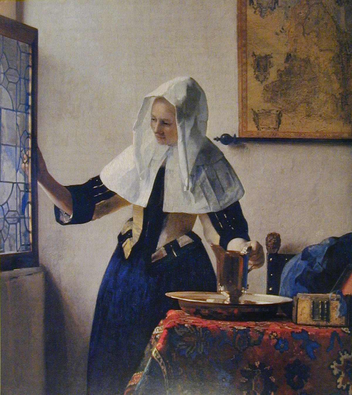 Young Woman with a Water Pitcher (1662) Oil on canvas by Johannes Vermeer The Metropolitan Museum of Art, New York Marquand Collection, Gift of Henry G. Marquand, 1889