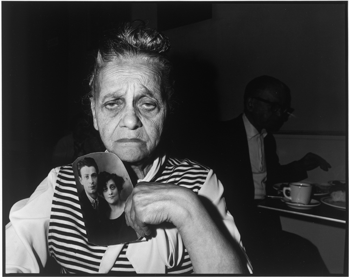 Mrs. Bessie Gakaubowicz (1973) gelatin silver print by Bruce Davidson Collection of the artist, courtesy of the Howard Greenberg Gallery.   © Bruce Davidson Magnum Photos.