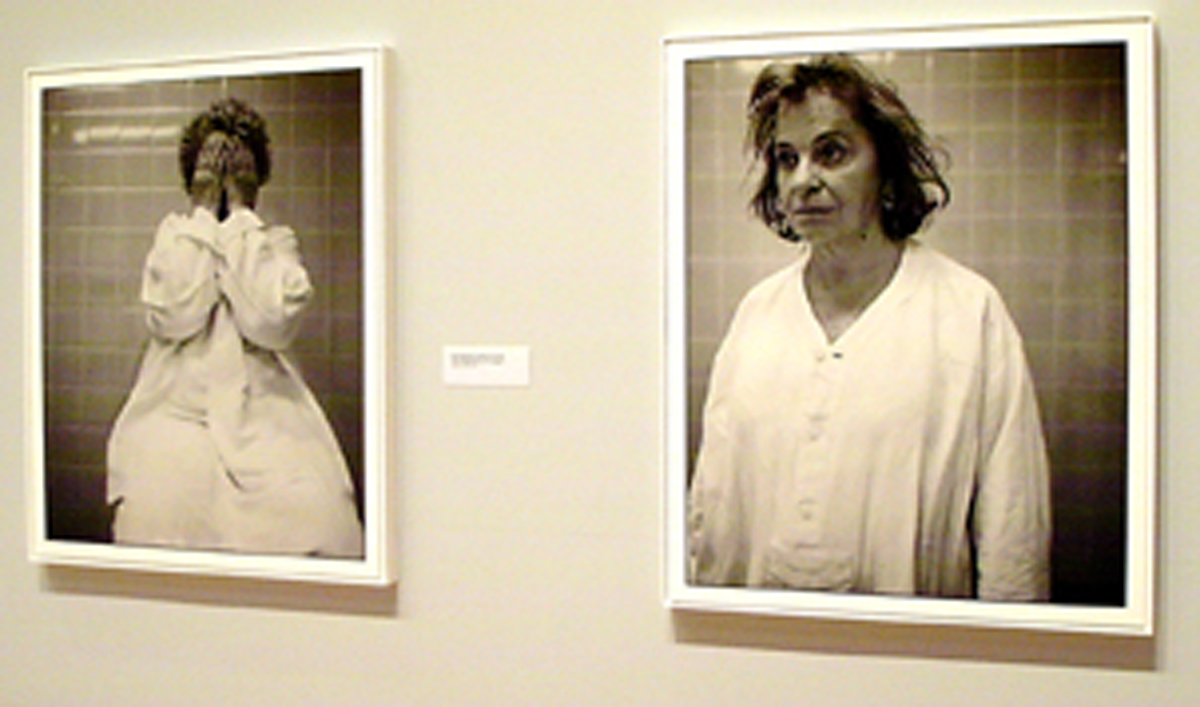 "Mothers of ""Disappeared"" (2000) Buenos Aires [Gallery View] Fiberbase gelatin silver prints (39 x 32) by Frederic Brenner"