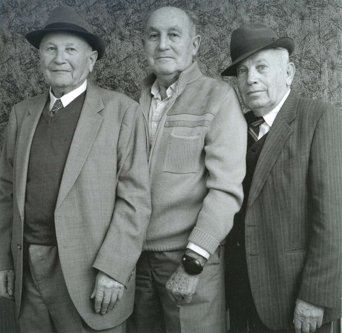 Three Brothers, 1992 by Vardi Kahana Courtesy Andrea Meislin Gallery
