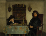Rabbi with Young Student by Kaufmann Courtesy Sotheby's
