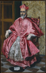 Cardinal (ca.1600) oil on canvas by El Greco Courtesy Metropolitan Museum of Art, New York