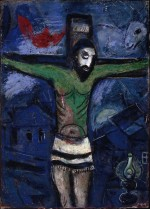 Chagall - Christ in the Night