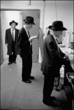 Eagle Paper Minyan black & white photograph by Jaime Permuth