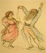 Dance with Kerchief from Satan in Goray by Ira Moskowitz Courtesy Diana Gordon Collection