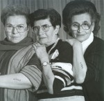 Three Sisters, 1992 by Vardi Kahana Courtesy Andrea Meislin Gallery