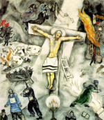 White Crucifixion (1938) oil on canvas by Marc Chagall Courtesy Art Institute of Chicago